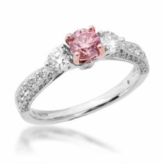 Riddle's Jewelery; pink diamond. Even though it's way to early to pick favorites...I love this :)
