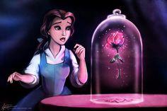 Disney Inspired Art (BELLE)