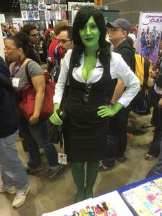 10 Fantastic Costumes from Day 2 She Hulk Costume, She Hulk Cosplay, Marvel Cosplay, Best Cosplay, Cool Costumes, Cosplay Costumes, Cosplay Ideas, My Eyes, Beautiful Pictures