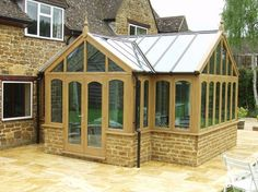 Conservatory Design Ideas, Pictures, Remodel, and Decor - page 14. Double gable