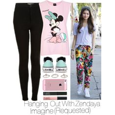 """♥•Hanging Out With Zendaya Imagine (Requested)•♥"" by its-essie-xo on Polyvore"