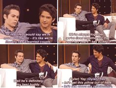 Teen Wolf cast - Dylan O´Brien and Tyler Posey