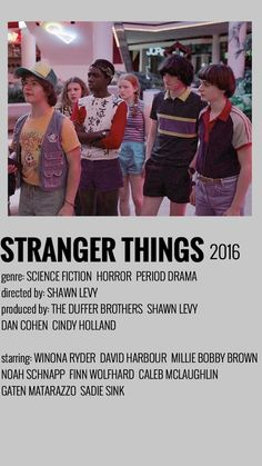 Iconic Movie Posters, Iconic Movies, Film Posters, Good Movies, Stranger Things Funny, Stranger Things Netflix, Film Serie, Minimalist Poster, Movie Photo