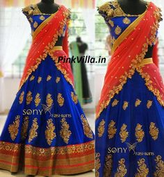 Blue & Red Golden Embroidered Lehenga  Fabric Details :  DUPATTA-60GM GEORGET LEHENGA-60GM GEORGET BLOUSE-BANGLORY SILK WORK : MULTY/SEQUNCE/HAND  Sale Price : 2050 INR Only ! #Booknow  CASH ON DELIVERY Available In India !  World Wide Shipping !   For orders / enquiry  WhatsApp @ 91-9054562754 Or Inbox Us  Worldwide Shipping !  #SHOPNOW  #lahengacholi #onlineshopping #bridalwear #glamour #style #quallity #pakistanifashion #designersaree #salwarkameez #patiyalasuits #punjabisuit…