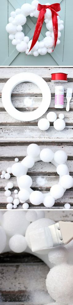 how-to-make-a-snowball-wreath