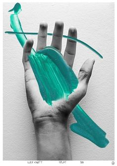 // Graphic Design #mixed #Media #painting #photography #green #hand