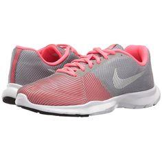065c4a0ee90d3 Nike Flex Bijoux (Cool Grey Metallic Silver Racer Pink) Women s Cross.