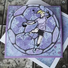 H♥BBYSYSLER: Håndball, konfirmasjonskort