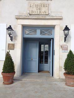 L' Hôtel de Toiras, 5 étoiles, sur le port de Saint Martin de Ré, #iledere