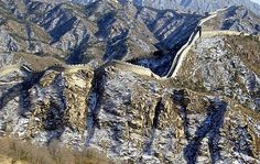 The New Seven Wonders of the World New Seven Wonders, Wonders Of The World, Beautiful World, Beautiful Places, Chinese Wall, Grain Of Sand, Great Wall Of China, China Travel, Machu Picchu