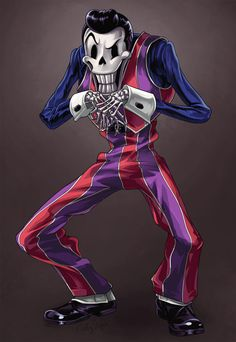 Rotten Papyrus [Lazy Town + Undertale] by fluffySlipper