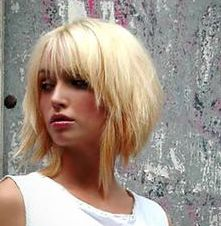 Trendy bob hairstyle for young women.PNG