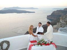 Wedding Kaldera view