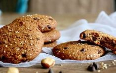Diabetic meals 57843176445181637 - Cookies ultra-gourmands IG bas choco-noisettes-sésame Source by ssoulignac Healthy Lunches For Kids, Lunch Snacks, Kid Lunches, Kid Snacks, School Lunches, Healthy Cookies, Healthy Sweets, Healthy Snacks, Healthy Recipes