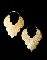 My Riviera Estrella Gold Plated Earrings
