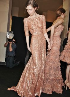 rose gold. Love this dress!!!!@Mandy Dewey Seasons Bridal
