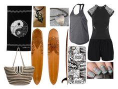 """""""Beach"""" by thyra-dahl on Polyvore featuring Mode, Seafolly, ONIA, NIKE und Casetify"""