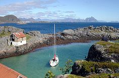 Æsøya (Vestvågøy), Lofoten, Norway.