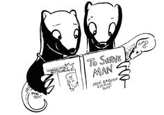 These Badgers Really Want You To Preorder SFWA's (Science Fiction & Fantasy Writers of America) Cookbook. (Or Else.)