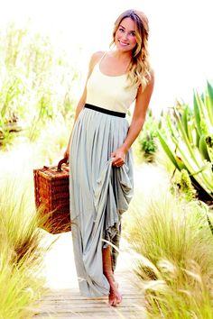 Maxidress / Lauren Conrad .maxi dress #kathyna257892 #style for women #womenfashionwww.2dayslook.com