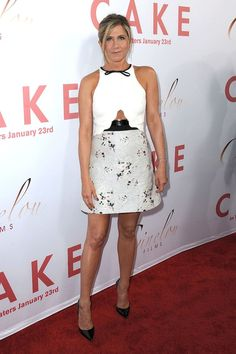 """Jennifer Aniston at the Los Angeles premiere of """"Cake"""" at ArcLight Hollywood"""