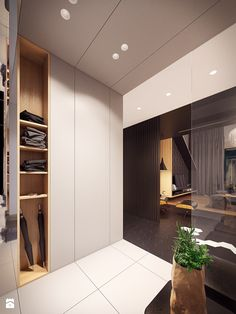 Three examples of luxurious loft designs with modern furnishings and rich colors. Bohemian Bedroom Design, Modern Bedroom Design, Home Interior Design, Interior Architecture, Loft Design, House Design, White Wall Paneling, Master Bedroom Interior, Wardrobe Cabinets