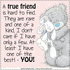 Trendy quotes birthday wishes friends tatty teddy ideas Special Friend Quotes, Friend Poems, Best Friend Quotes, Special Friends, Friend Sayings, Real Friends, Tatty Teddy, Birthday Verses, Birthday Wishes