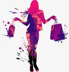 Cartoon drawing fashion shopping girl silhouette PNG and Vector Cartoon Cartoon, Cartoon Drawings, La Petite Boutique, Boutique Logo, Fashion Design Portfolio, Fashion Logo Design, Summer Dresses Sale, David Downton, Fashion Vector