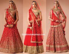 Latest bridal lehenga red pakistani dresses 35 Ideas for 2019 Sabyasachi Lehenga Bridal, Indian Bridal Lehenga, Pakistani Dresses, Indian Dresses, Bridal Dupatta, Lehenga Choli, Sarees, Lehnga Dress, Pakistani Bridal