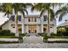 South Florida Extraordinary Property Of The Day | 26740 Hickory Blvd,  Bonita Springs, FL 34134 | Contemporary New Construction Home On Bonita  Beach ...
