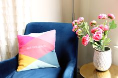 tiny prints custom pillows