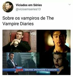 Série: The Vampire Diares . The Vampire Diaries, Vampire Diaries The Originals, Klaus Tvd, Klaus The Originals, Damon And Stefan, Klaus And Caroline, Hello Brother, Mystic Falls, Sad Day