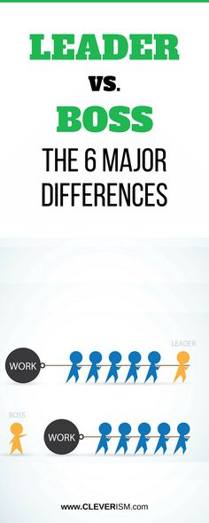 Leader vs. Boss – The 6 Major Differences.