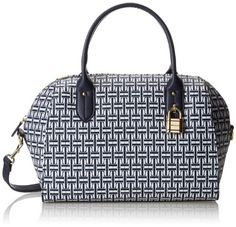 Tommy Hilfiger TH Heritage Bowler Coated Logo Top Handle Bag,Navy/White,One Size Tommy Hilfiger http://www.amazon.com/dp/B00J6ALGTE/ref=cm_sw_r_pi_dp_Kro-tb1WXN0WG