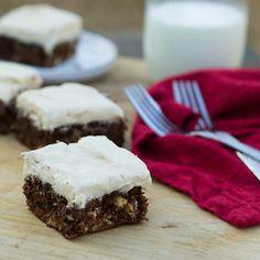 Gingerbread Brownies with Cream Cheese Brownies