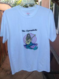the aquadolls merch!~ | mermaid t-shirt tie-dye/white tee | Online Store Powered by Storenvy