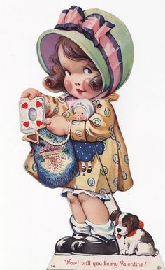 MY DOLLY & ME~Vintage Valentine