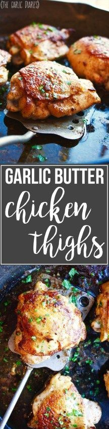 Garlic Butter Chicken Thighs