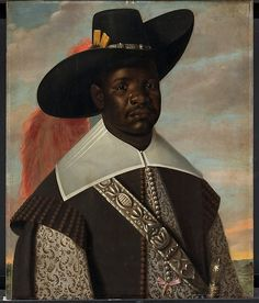 """Attributed to Jaspar Beckx (Dutch, active 1627–47). Dom Miguel de Castro, Emissary of Soyo. Statens Museum for Kunst, Copenhagen.