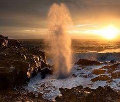 Nakalele Point Blowhole in Maui, Hawaii
