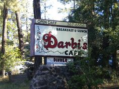 OK. So if ever in Pinetop you HAVE to eat at Darbi's! Amazing home cooked food... incredible breakfasts, salads, sandwiches, and baked goods! If you are lucky you will get to see/talk to Darbi herself. She is usually there ensuring a great experience for her customers :):)