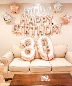 30th Birthday Party decorations at affordable pricing! 30th Birthday Balloons, 30th Birthday Themes, 15th Birthday Party Ideas, Birthday Party Decorations For Adults, Birthday Wall, Happy 30th Birthday, Birthday Outfits, 1700s Dresses, Photoshoot Ideas