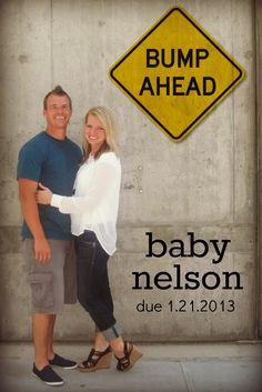 Pregnancy Announcement... Bump Ahead