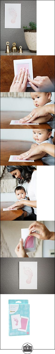 Pearhead Newborn Baby Handprint or Footprint Clean-Touch Ink Pad, 2 Uses, Pink by Pearhead  ✿ Regalos para recién nacidos - Bebes ✿ ▬► Ver oferta: http://comprar.io/goto/B019MOL82S