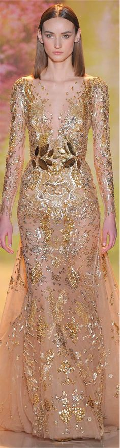 Zuhair Murad, Haute Couture Spring 2014, Paris France