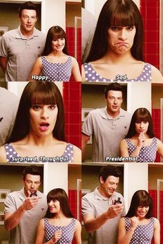 Rachel and Finn:)