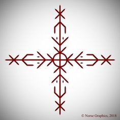 The Norse Graphics Shop: Buy Design Services, essays, books and manuscripts relating to Galdrastafir, Bindrunes and Rune Writing. Viking Tattoo Symbol, Rune Tattoo, Norse Tattoo, Viking Tattoos, Icelandic Tattoo, Icelandic Runes, Symbols Of Strength Tattoos, Word Tattoos, Tatoos