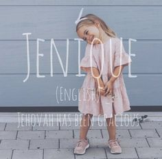 Jenique Grace (nickname Jenny) Beautiful Baby Girl Names, Baby Girl Names Unique, Names Girl, Cool Baby Names, Cute Names, Beautiful Babies, Girl Names With Meaning, Pretty Names, Baby Name List