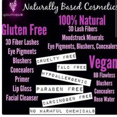 Naturally based and cruelty free products. What's not to like? ❤️❤️❤️