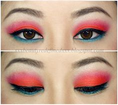 BeautyRedefined by Pang: Urban Decay Electric Palette Makeup Look: Slowburn, Savage, Fringe